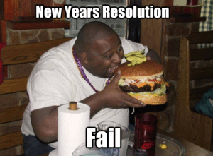 new years resolution fail