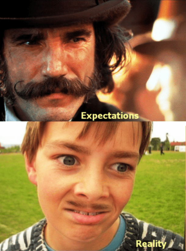 investment expectations vs. reality