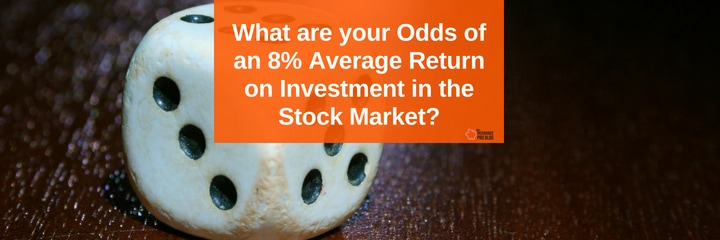 What can you expect you average return on investment in the stock market to be over your lifetime?