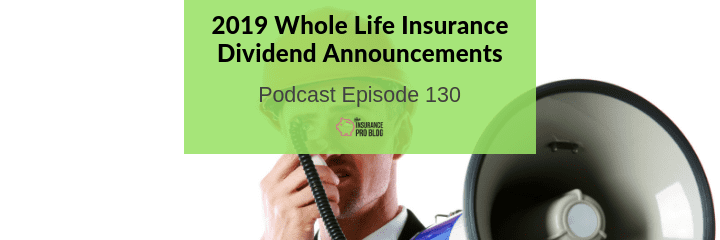dividends for participating whole life insurnace