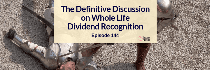 direct recognition versus non-direct recognition of whole life insurance dividends