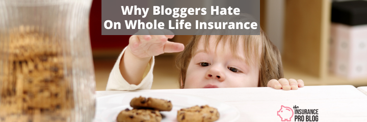why bloggers hate on whole life insurance