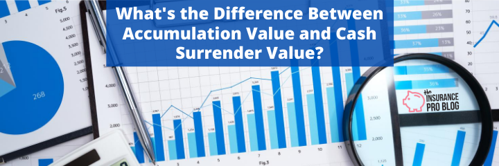Difference Between Accumulation Value and Cash Surrender ...