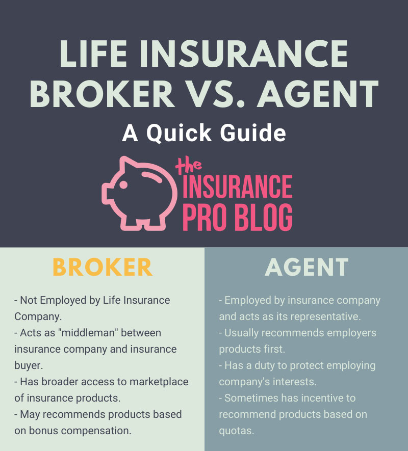 Life Insurance Broker Agent Infographic
