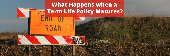 What Happens when a Term Life Policy Matures?